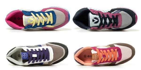 Zapatillas Victoria en piel combinada para mujer chollazo en eBay