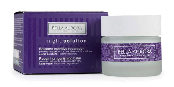 Bella Aurora Night Solution Bálsamo nutritivo reparador noche barata en Amazon