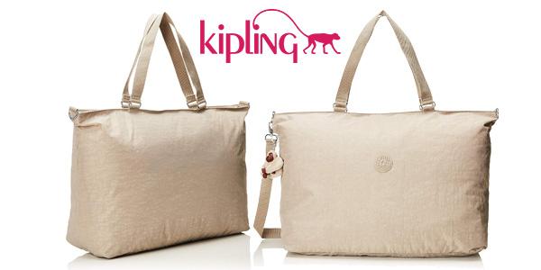 Adular revisión Viaje  Chollazo Bolsa de viaje Kipling XL Pastel Beige de 32 litros por sólo  27,20€ con envío gratis (66% de descuento)