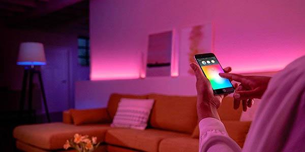 bombillas de colores Philips Hue White Color Ambiance LED E27 oferta