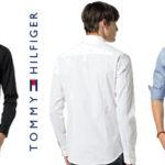 Camisa de manga larga Tommy Hilfinger Denim Original Stretch para hombre barata en Amazon