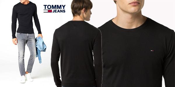 Camiseta TOMMY HILFIGER DENIM manga larga chollo en Amazon