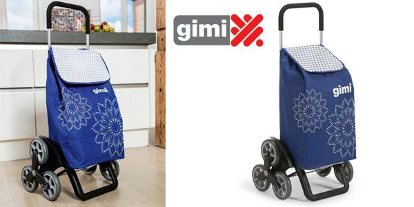 Carrito de la compra Gimi Tris Floral en azul barato en Amazon