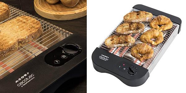 Cecotec Easy Toast Basic tostadora plana barata