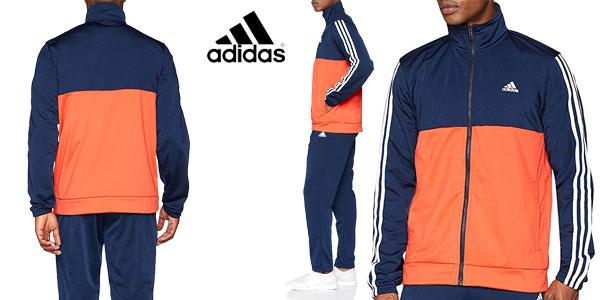 Chándal Adidas Back2Bas 3S TS para hombre chollo en Amazon con cupón DEPORTES20