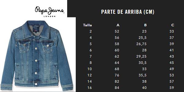 Pepe Jeans New Berry Chaqueta para Ni/ñas