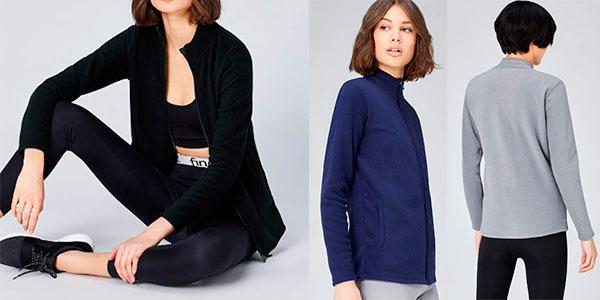 Sudadera casual de forro polar ActivewearFL1-W03 en varios modelos para mujer