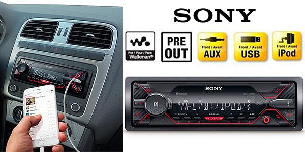 Chollo Receptor multimedia Sony DSX-A410BT con NFC y Bluetooth