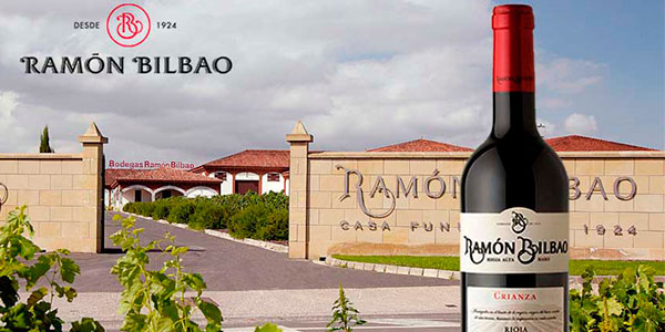 Chollo Pack de 6 botellas de vino tinto Ramón Bilbao Crianza (DO Rioja)