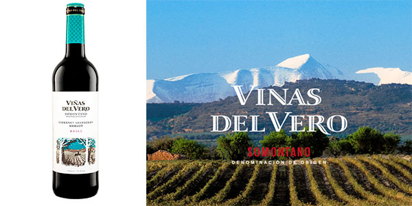 Chollo Pack de 6 botellas vino tinto roble Viñas del Vero (2016) con D.O. Somontano