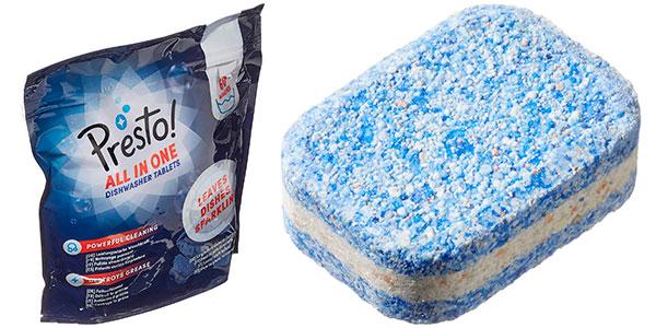 Chollo Pack de lavavajillas Amazon Presto! todo en uno (120 lavados)