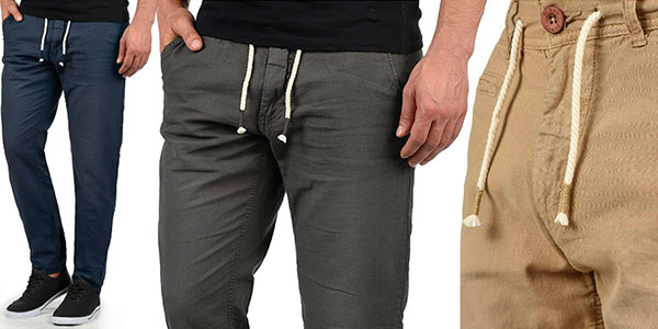 Chollo Pantalones Blend Lian de lino en varios colores para hombre