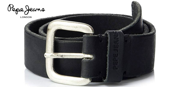 Cinturón Pepe Jeans Tibol Belt en color negro para hombre barato en Amazon