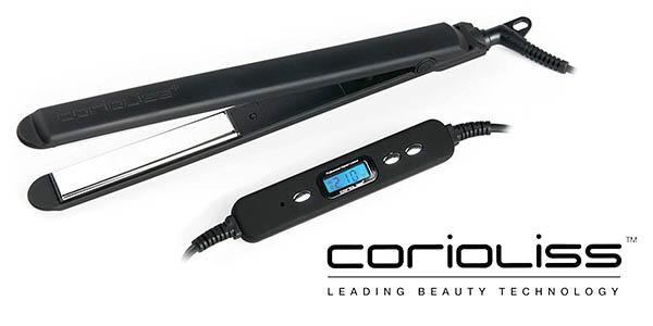 Corioliss C2 Black Soft Touch plancha de pelo profesional barata