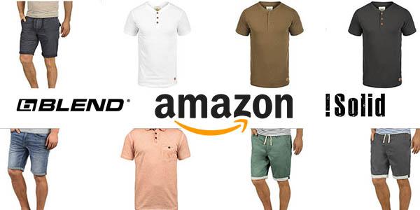 descuentos en ropa !Solid, Blend e Indicode en Amazon