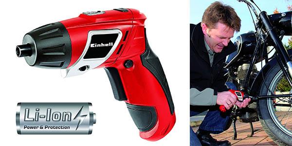 destornillador Einhell TC-SD con juego de 6 puntas oferta