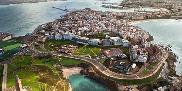 escapada de otoño A Coruña Galicia low cost descuento en estancia para niños