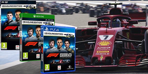 F1 2018 para PC Steam, PS4 y Xbox One
