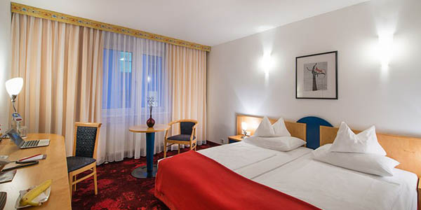 Hotel Boltzmann Viena relación calidad-precio estupenda