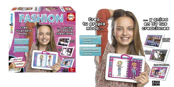 Juego creativo Fashion Creator 16149 de Educa Borrás barato en Amazon