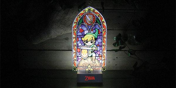 Lámpara de mesilla Link's Light The Legend of Zelda chollo en Amazon