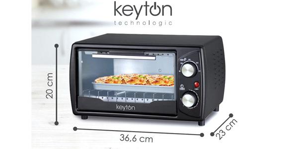 Horno Eléctrico Keyton Technologics de 9L y 1.000W chollo en eBay