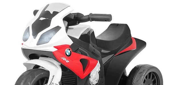 moto infantil BMW con licencia oficial 6V chollo