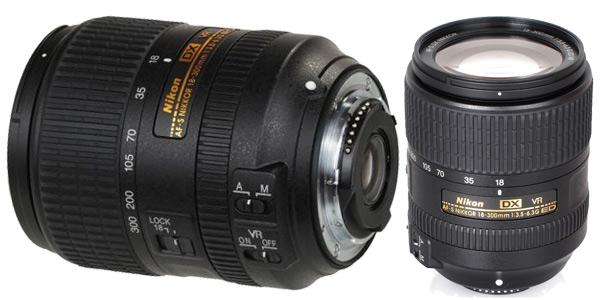 Objetivo AF-S DX NIKKOR 18-300mm chollazo en eBay