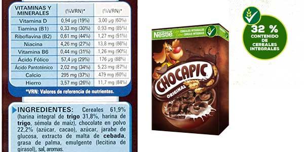 Pack 12 cajas de cereales de desayuno Chocapic Nestle chollo en Amazon