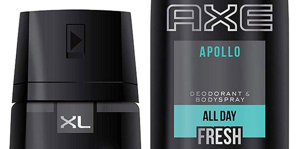 Pack 3 Desodorantes Bodyspray x 200 ml AXE Apollo XL chollo en Amazon
