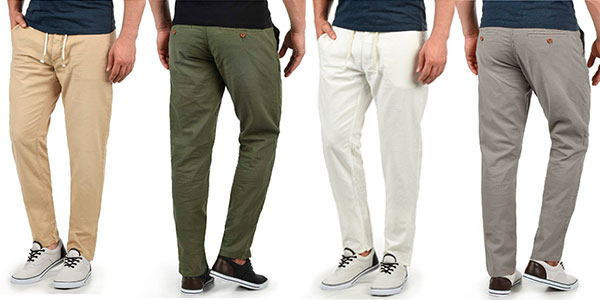 Pantalones Blend Lian de lino en varios colores para hombre baratos