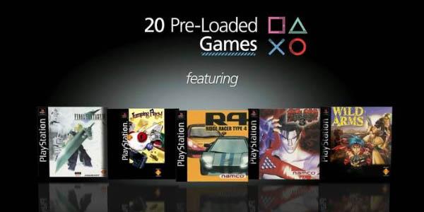 PlayStation Classic con 20 juegos instalados