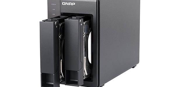 NAS QNAP TS-251 con 8 TB de capacidad (2 x Western Digital Red de 4 TB) barato