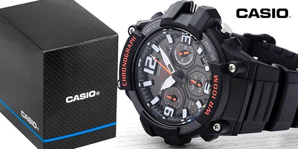 Comprar Reloj analógico Casio Collection MCW-100H-1AVEF para hombre chollazo en Amazon