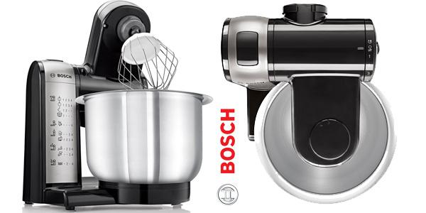 Robot de cocina Bosch MUM48A1 de 600W y 3,9L con 4 velocidades en color gris chollo en Amazon