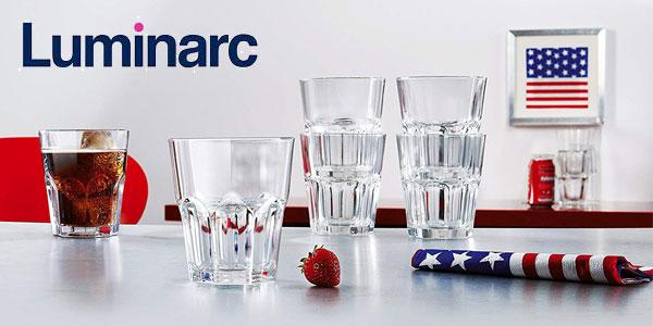 Set 12 vasos Luminarc New America forma baja (30cl) chollo en eBay