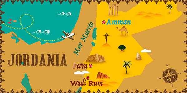 viaje organizado con circuito por Petra a Jordania oferta