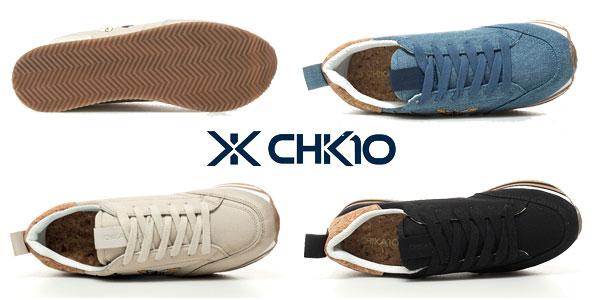 Zapatillas Chika10 Carla02 en tres colores para mujer chollo en eBay