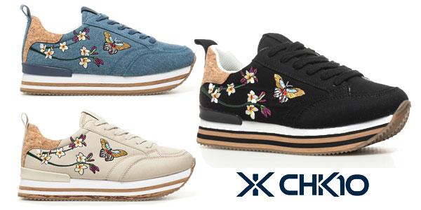 Zapatillas Chika10 Carla02 en tres colores para mujer baratas en eBay