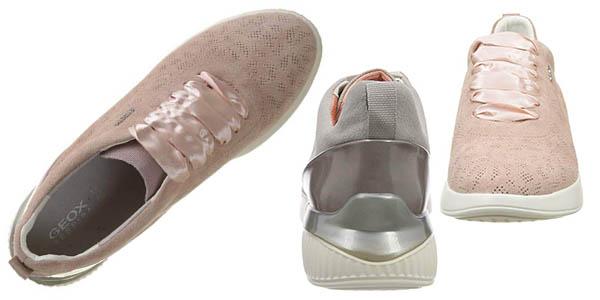 zapatillas Geox D Theragon C transpirables de diseño casual chollo