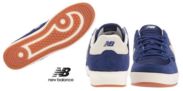 Zapatillas New Balance 300 Suede azul moroccan blue para hombre chollazo en Amazon