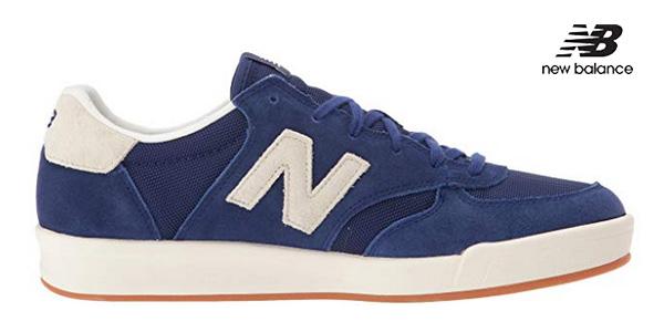 Zapatillas New Balance 300 Suede azul moroccan blue para hombre chollo en Amazon