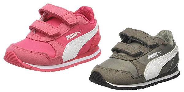zapatillas infantiles Puma St Runner V2 chollo