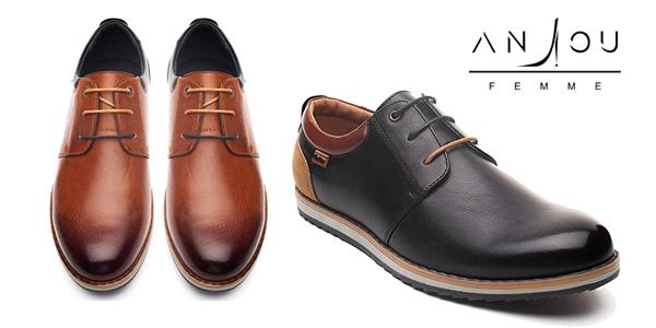 Promoción Zapatos Oxford para hombre de cuero PU baratos en Amazon