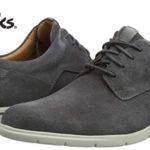 Zapatos Clarks Vennor Walk en color gris para hombre baratos en Amazon