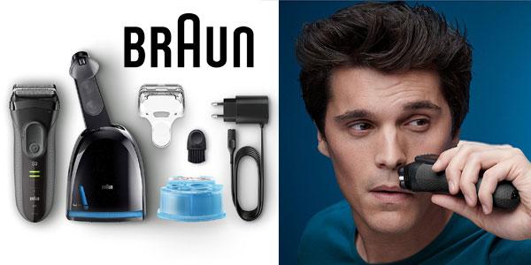 Afeitadora eléctrica Braun Series 3 ProSkin 3050cc recargable e inalámbrica chollo en Amazon