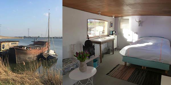 Alojamiento en bote en Ámsterdam valoraciones top