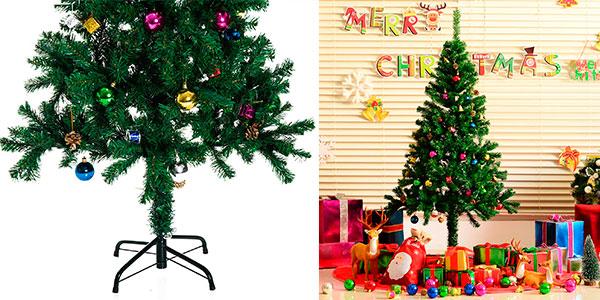 Árbol de Navidad de 180 cm con decoración barato