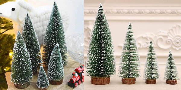 árbol de navidad pequeño de decoración chollo