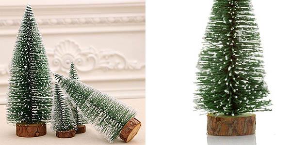arbolitos decoración Navidad Acecoree oferta